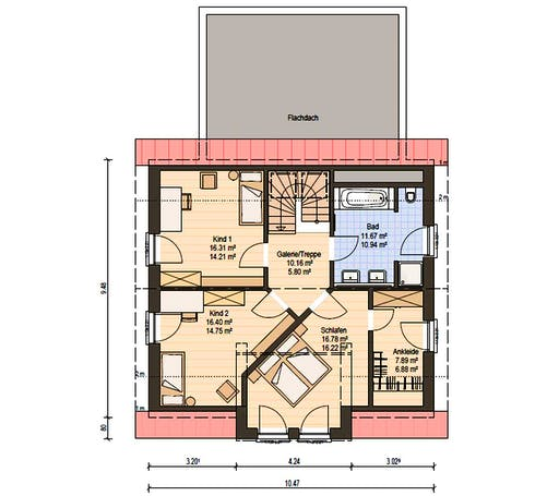 Haas MH Fellbach 163 Floorplan 4