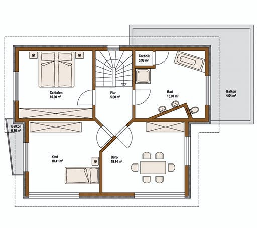 FH Weiss - Musterhaus FELLBACH EMOTION Floorplan 2