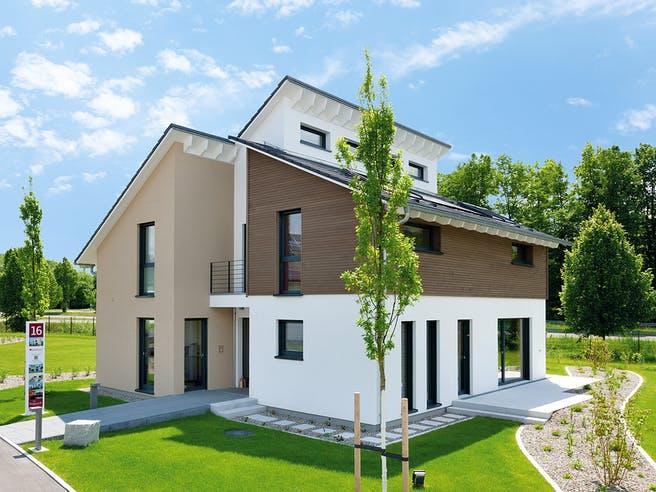 Musterhaus Günzburg von TALBAU-Haus Außenansicht 1