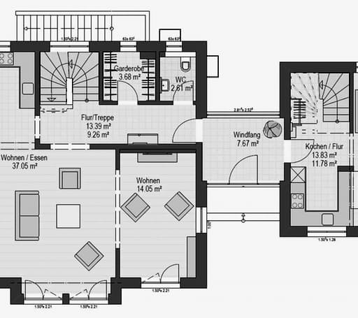 Musterhaus Hessdorf 169 Floorplan 1