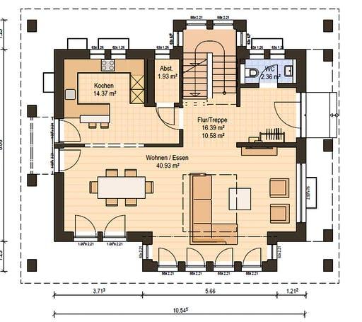 Haas MH Hirschaid 151 Floorplan 3