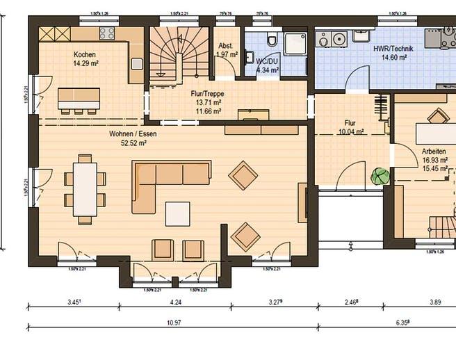 Haas MH Köln 171 Floorplan 3