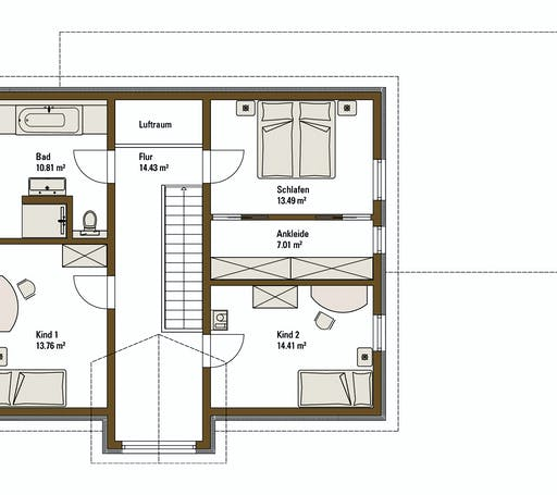 FH Weiss - Musterhaus LIFE Floorplan 2