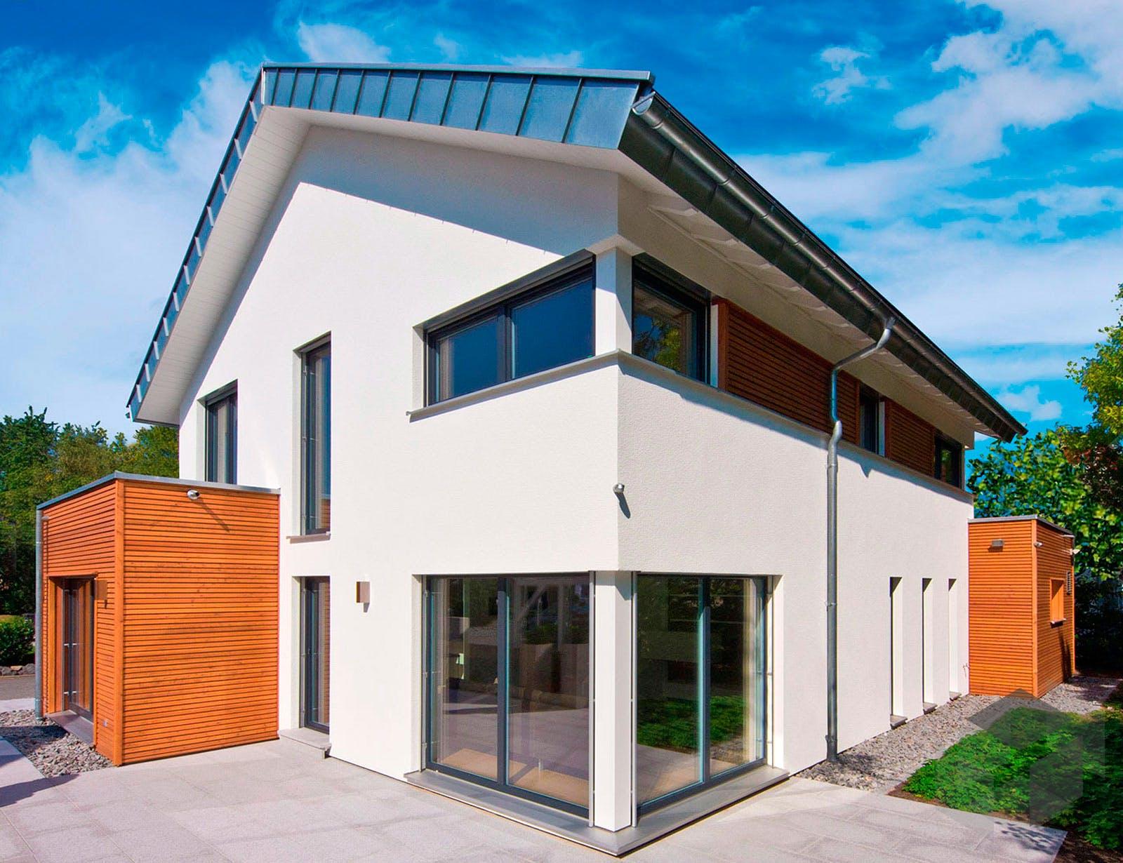 musterhaus future von fertighaus weiss komplette daten bersicht. Black Bedroom Furniture Sets. Home Design Ideas