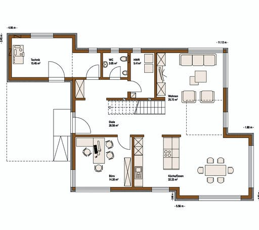 FH Weiss - Musterhaus MANNHEIM FUTURE Floorplan 1
