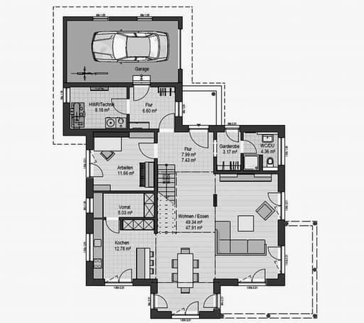 Musterhaus Poing 187 Floorplan 1