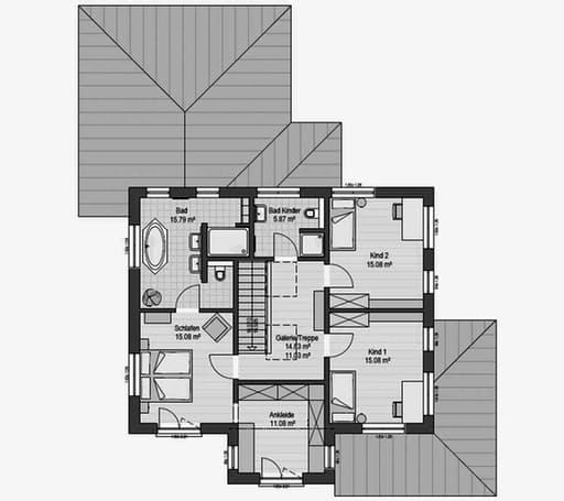 Musterhaus Poing 187 Floorplan 2