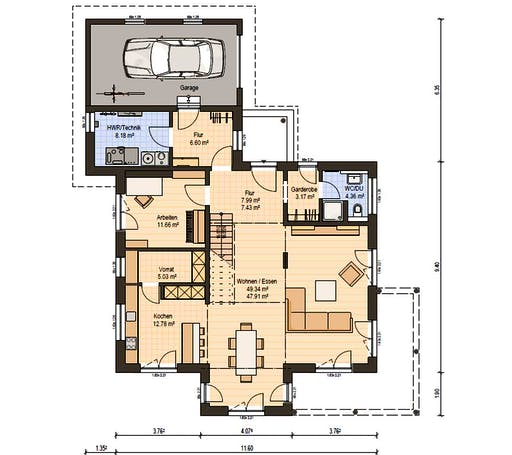 Haas MH Poing 187 Floorplan 3