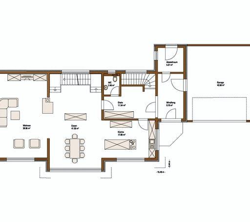 FH Weiss - Musterhaus STYLE Floorplan 1
