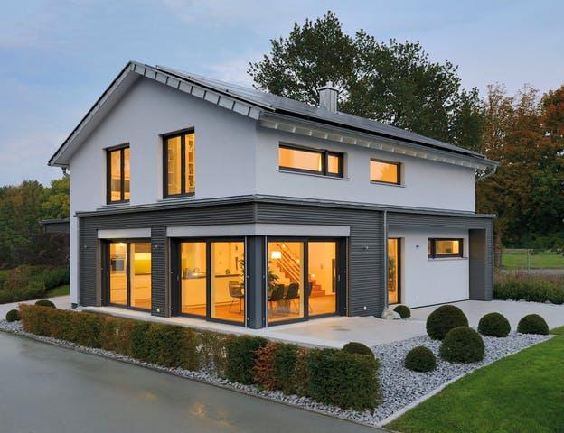 Fertighaus Weiss - Musterhaus Ulm Exterior 5