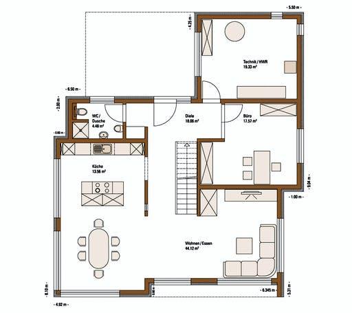 FH Weiss - Musterhaus ULM Floorplan 1