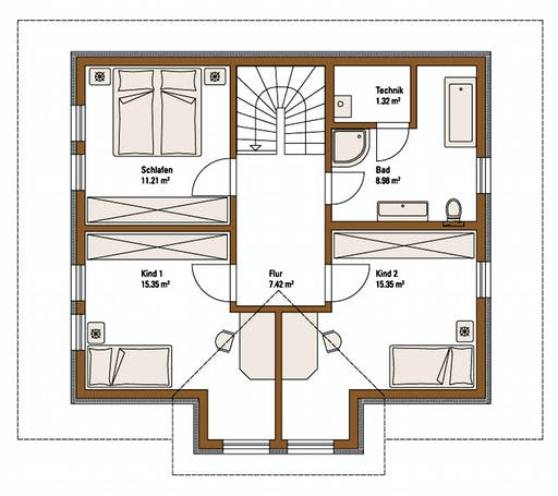 FH Weiss - Musterhaus VISION Floorplan 2