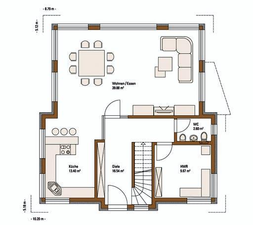FH Weiss - Musterhaus VILLINGEN-SCHWENNINGEN Floorplan 1