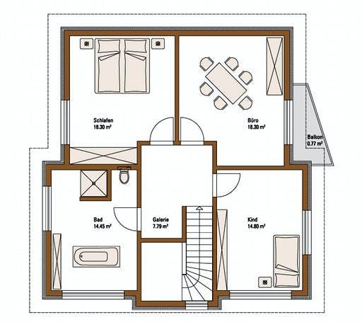 FH Weiss - Musterhaus VILLINGEN-SCHWENNINGEN Floorplan 2