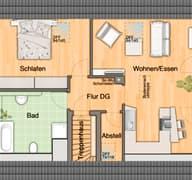 Mitwachshaus Flair 148 Grundriss