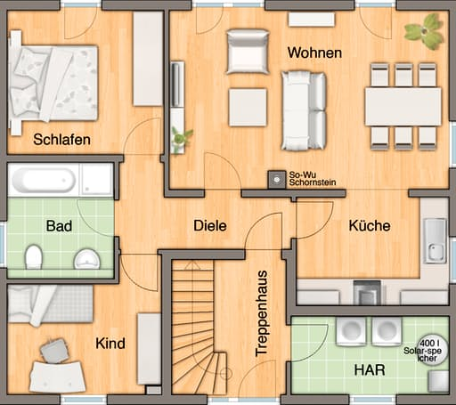 Mitwachshaus Flair 148 floor_plans 3