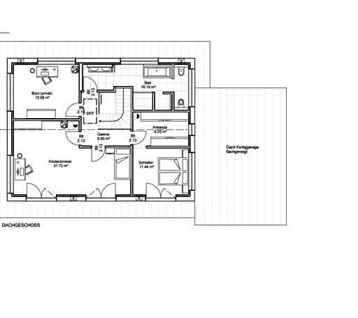 Natur trifft Holz Nr. 4 Floorplan 2
