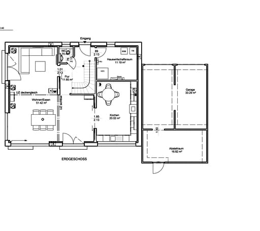 Natur trifft Holz Nr. 4 Floorplan 1