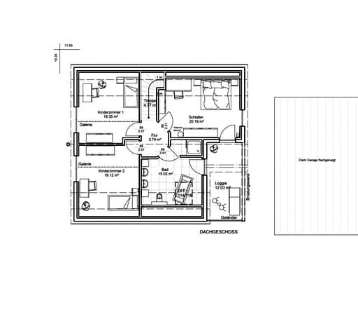 Unser Haus Nr. 7 Floorplan 2