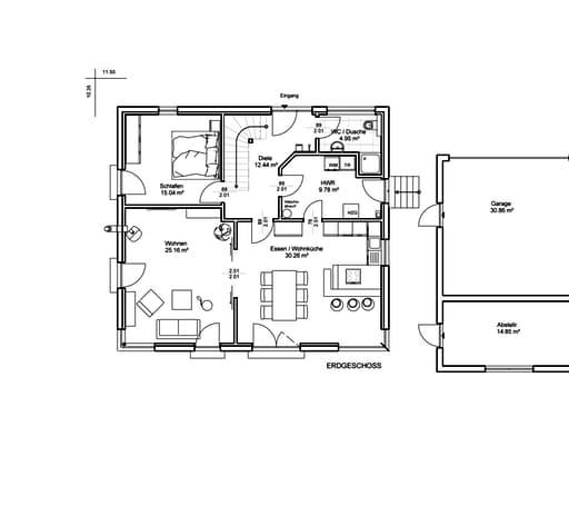 Unser Haus Nr. 7 Floorplan 1
