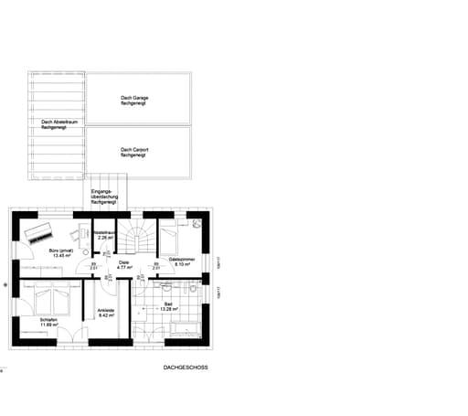 Natur trifft Holz Nr. 3 Floorplan 2