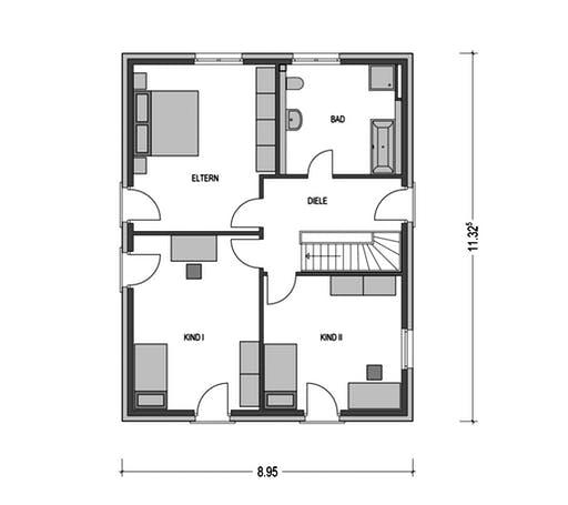 Modern 1000.2 Floorplan 2