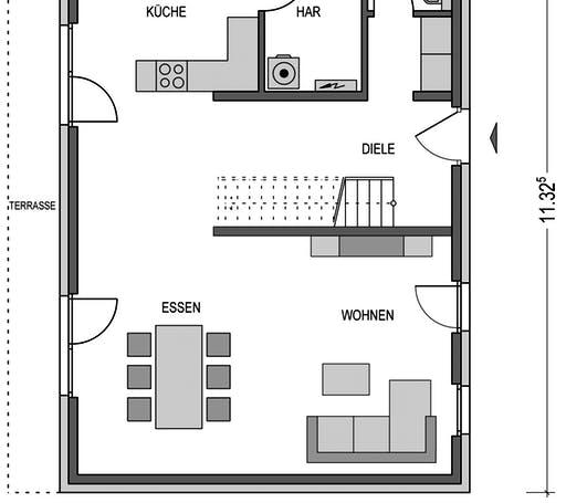 Modern 2000.2 Floorplan 1