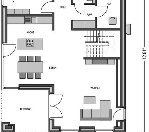 Modern 3000.2 Floorplan 1
