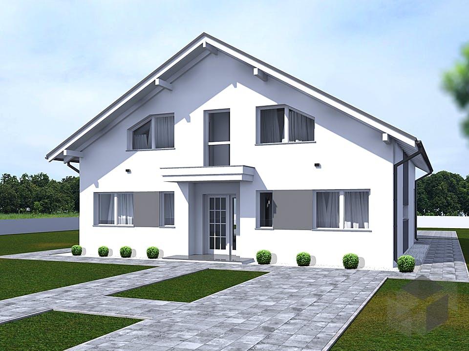 Designer Haus von Modern Immo Außenansicht