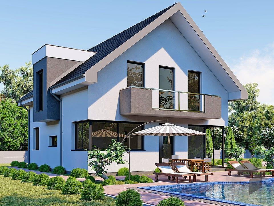 Modern Home von Modern Immo Außenansicht