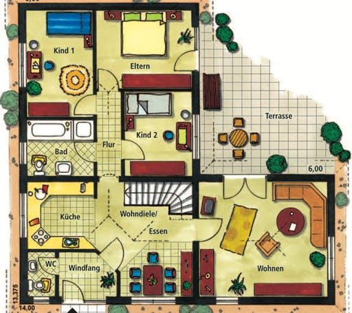 Monticello Floorplan 1