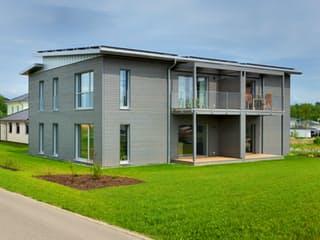 Münch - Kundenhaus von Baufritz Außenansicht 1