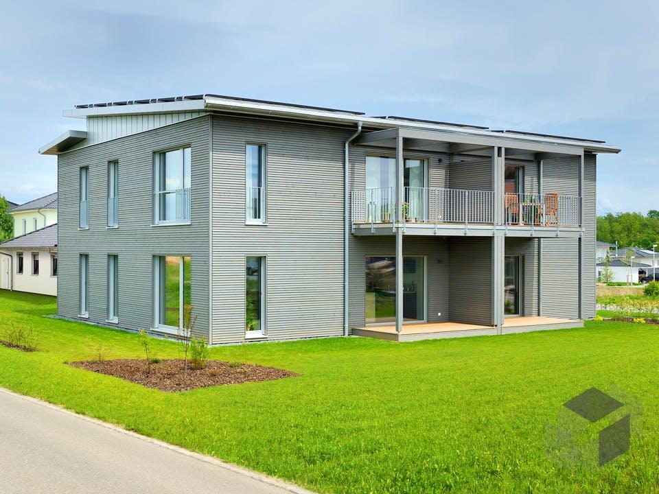 Münch - Kundenhaus von Baufritz Außenansicht
