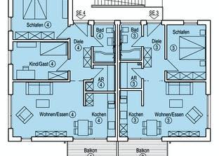 Münch - Kundenhaus Grundriss