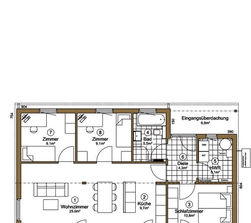 Musholm 138 + 14 (Luxus Pur) floor_plans 0