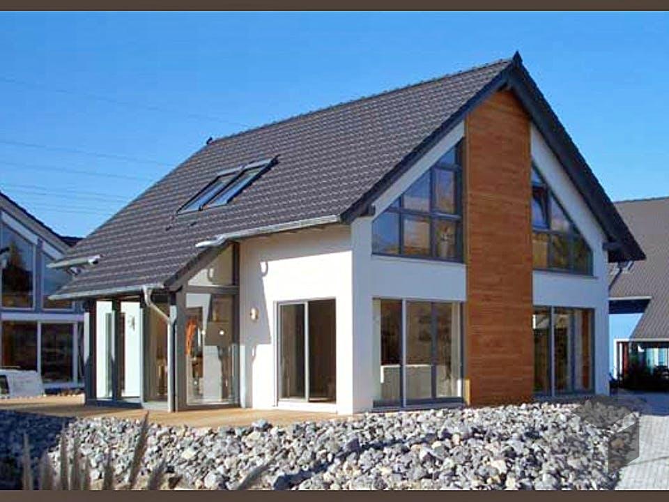 Musterhaus Fellbach von Meisterstück-HAUS Außenansicht