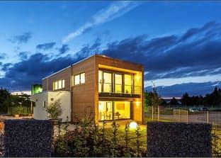 "Musterhaus Hameln ""Box"" exterior 0"