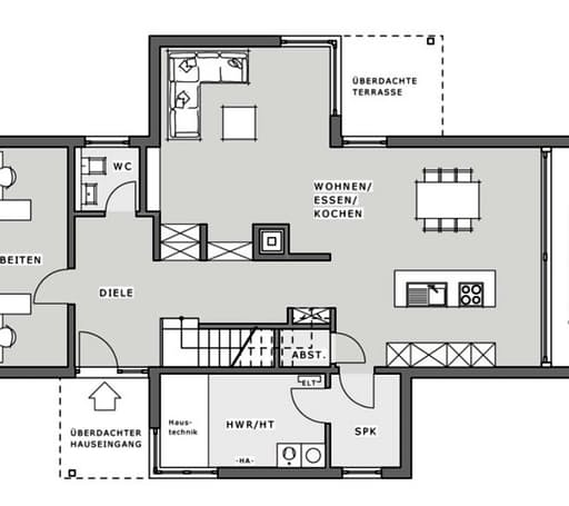 "Musterhaus Hameln ""Box"" floor_plans 1"