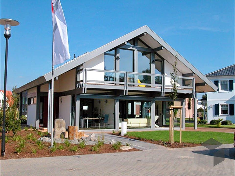 Ästhetik - Musterhaus Langenhagen von Meisterstück-HAUS Außenansicht