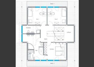 Musterhaus Langenhagen - Ästhetik Grundriss
