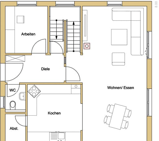 Natur 137 Floorplan 1