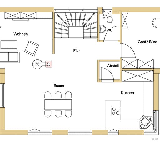 Natur 144 Floorplan 1