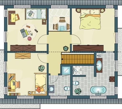 Fingerhaus neo grundriss  NEO 300 - Musterhaus Hannover von FingerHaus | komplette ...