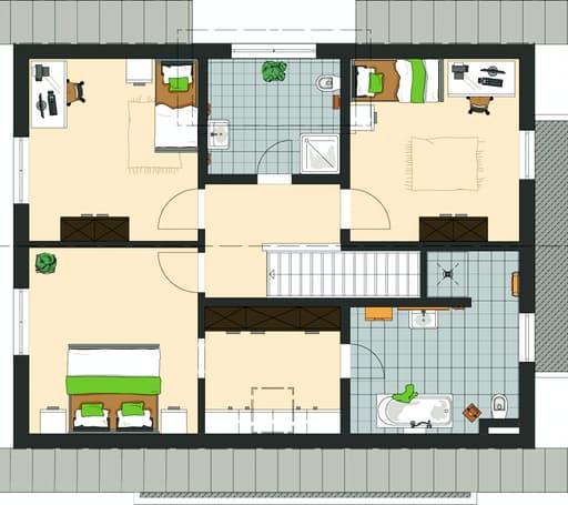 NEO - Musterhaus Günzburg Floorplan 2