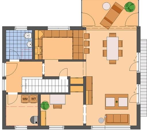 NEO 312 Musterhaus Wuppertal Floorplan 1