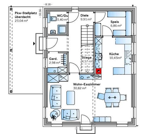 New Design II Floorplan 1