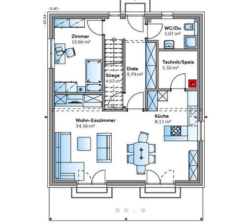 New Design III Floorplan 1