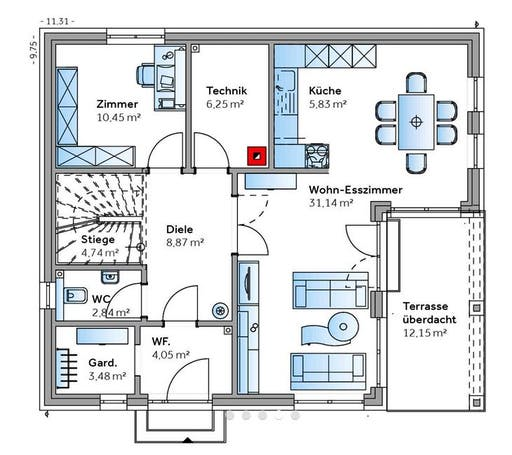 New Design IV Floorplan 1