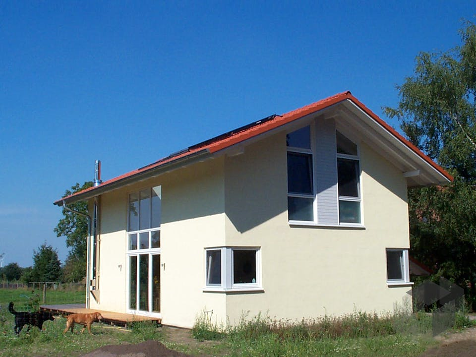 Nicole 2 (KfW-Effizienzhaus 40) von Dammann-Haus Außenansicht