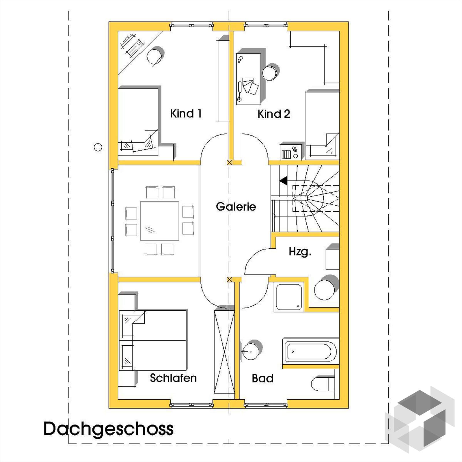 nicole 2 kfw effizienzhaus 40 von dammann haus komplette daten bersicht. Black Bedroom Furniture Sets. Home Design Ideas